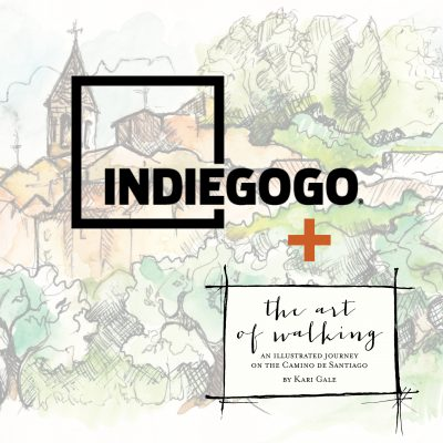 """Support """"The Art of Walking"""" through INDIEGOGO"""